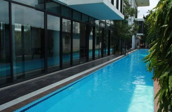 WESTERN/ MODERN STYLE HOUSE WITH LAP POOL IN HO CHI MINH CITY