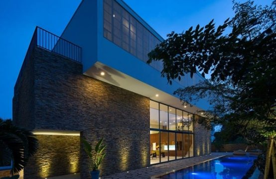 CONTEMPORARY DESIGN VILLA IN THAO DIEN FOR RENT