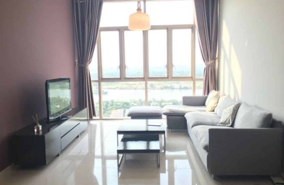 Apartment For Rent in Vista An Phu, 2 bedrooms, Awe-Inspiring View to Sai Gon River.