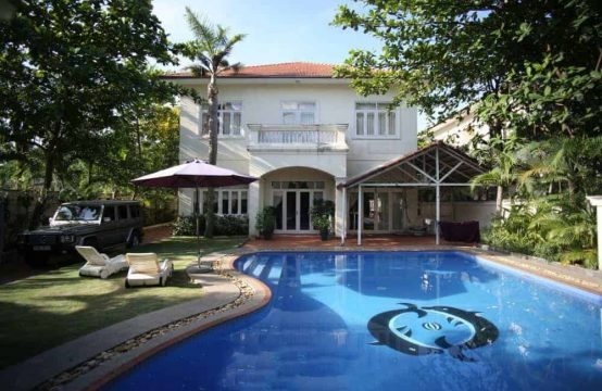 4 Bedrooms Villa In An Phu Ward For Rent.