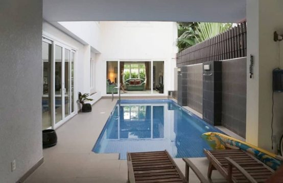 Modern House For Lease With 4 Bedroom, Small Garden And Private Pool In Saigon District 2