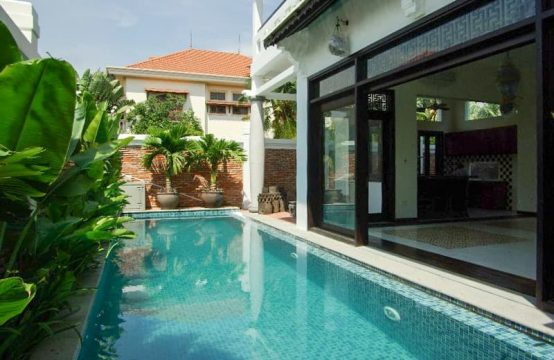 Private Well-Appointed Villa Retreats In Thao Dien For Rent