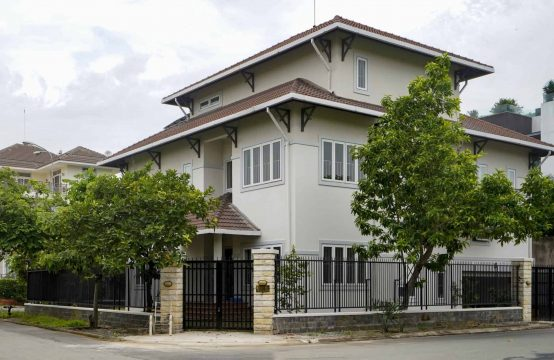 Unfurnished Villa For Rent With Private Pool And Garden For Rent In Thao Dien