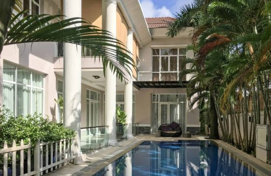 Swoon-Worthy Villa For Rent In An Phu Ward With Stunning Swimming Pool And Garden