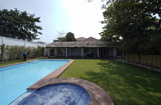 Villa In An Phu Secluded Compound, River View, Private Pool
