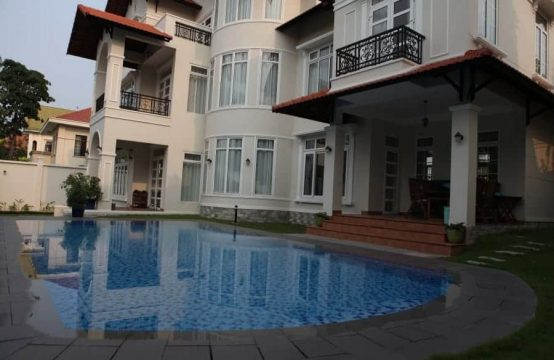 Modern And Luxury Villa For Lease In A Good Compound In Thao Dien, Saigon District 2