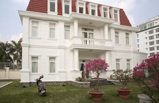 Remarkable Neo-Classical Villa For Rent In Thao Dien, 4 Bedrooms.