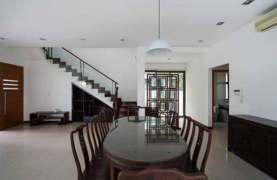 Three-story 4 Bedrooms Riviera Villa With Dark, Polish Wooden Interior.