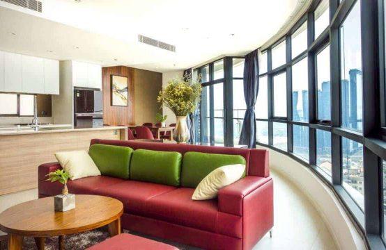 Elegant, Modern 3 Bedrooms Apartment In City Garden For Rent