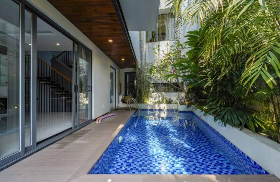 Well-Designed, Modern House In An Phu Ward For Rent, 5 Bedrooms And Private Pool.