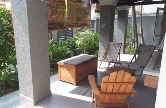 House For Rent In Lang Bao Chi, 4 Bedrooms And Semi-Furnished