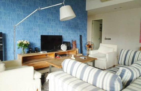 Low Floor, Large Balcony, 3 Bedrooms Furnished Apartment in Estella For Rent.