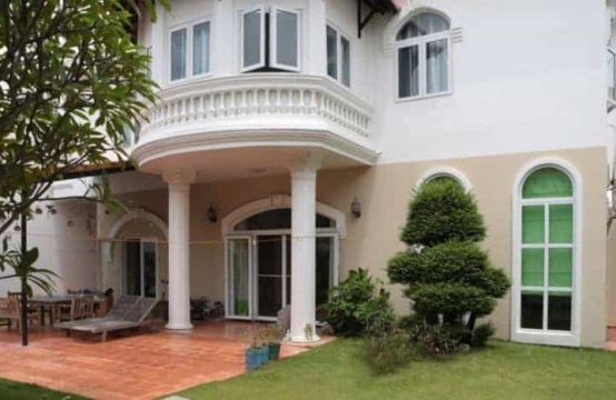 Frence Style Villa With Large Garden In Thao Dien For Rent