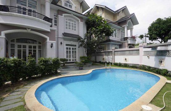 Stunning Estate In The Heart Of Thao Dien For Rent, Unfurnished And Clean