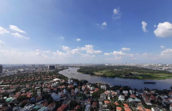 Fantastic Three-Bedroom Penthouse Masteri Thao Dien For Rent