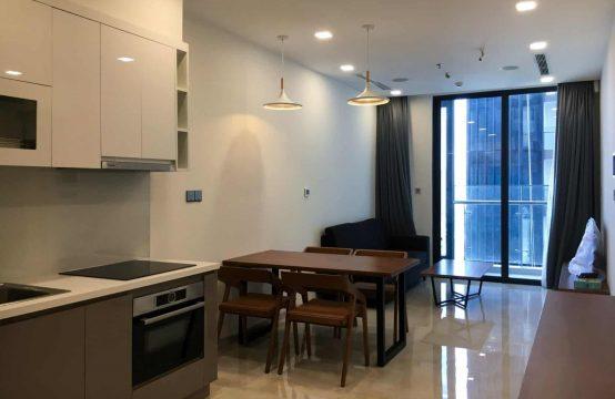 Cozy One Bedrooms Apartment In Vinhome Golden River For Rent