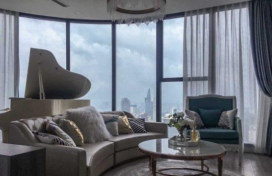 Vinhomes Golden River | Top Floor 3-BR Apartment For Rent | Amazing View Of Saigon