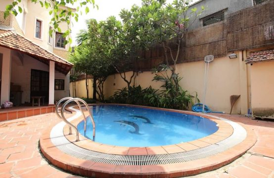 Villa With Private Pool For Rent In Thao Dien