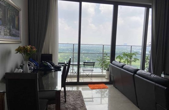 Stunning River View Nassim Thao Dien 3 Bedrooms Apartment For Rent.