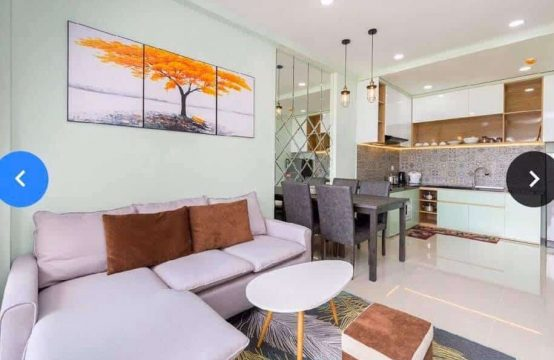 High Floor (28) Furnished 2 Bedrooms Sun Avenue Apartment For Rent