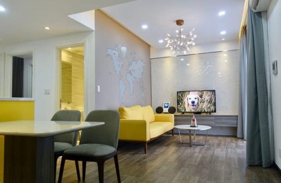 Masteri Tower 2 Middle Floor Fully Furnished Two Bedrooms For Rent