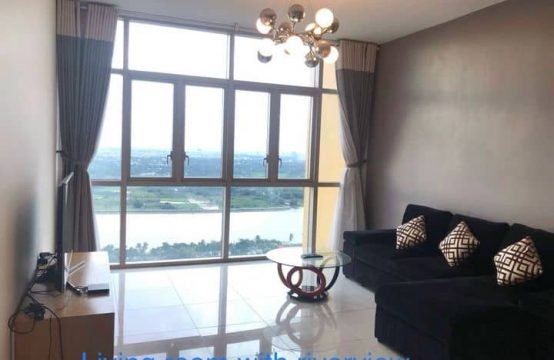 High Floor Two Bedrooms River View Apartment For Rent In Vista An Phu