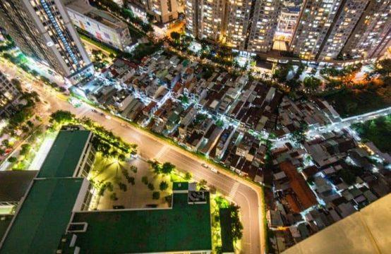 High-Floor 03 Bedrooms Flat In Vinhome C3 Tower For Rent