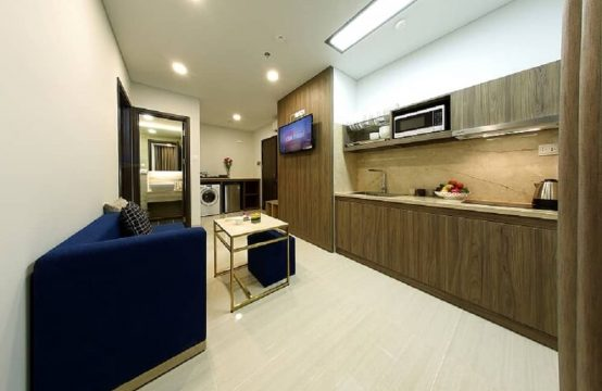 Stunning 02 Bedrooms Service Apartment Near ISHCMC | Quoc Huong Street.