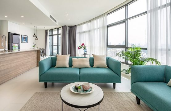 City Garden Luxury 03 Bedrooms Condo For Lease