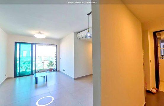 Unfurnished 02 Bedrooms Feliz En Vista Apartment | Middle Floor