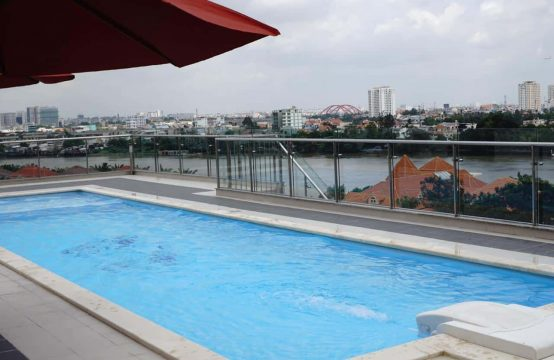 Charming Serviced Apartment In Central Thao Dien For Rent